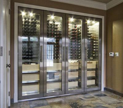 Холодильное пространство под вино