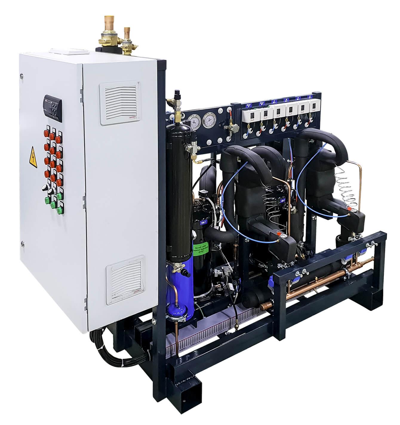 Агрегат на спиральных компрессорах