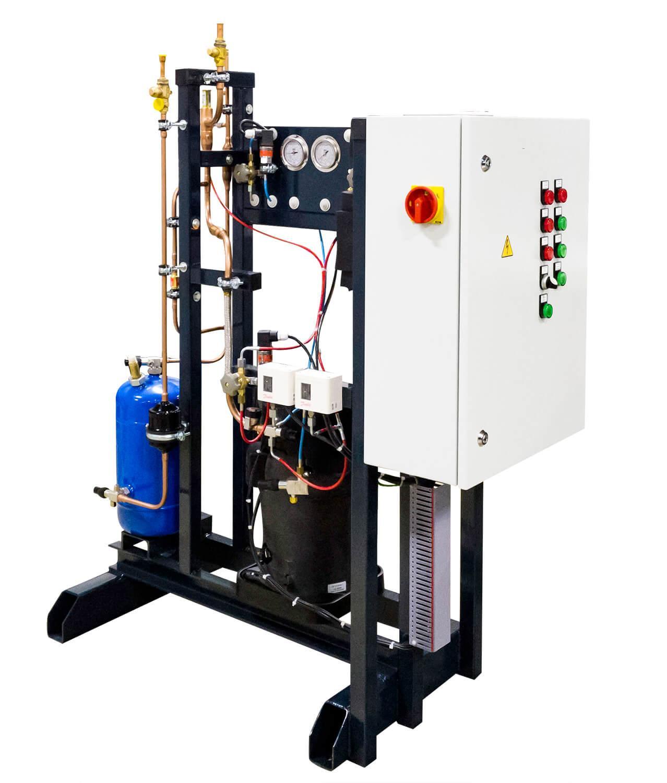 Ресиверный агрегат на спиральном компрессоре