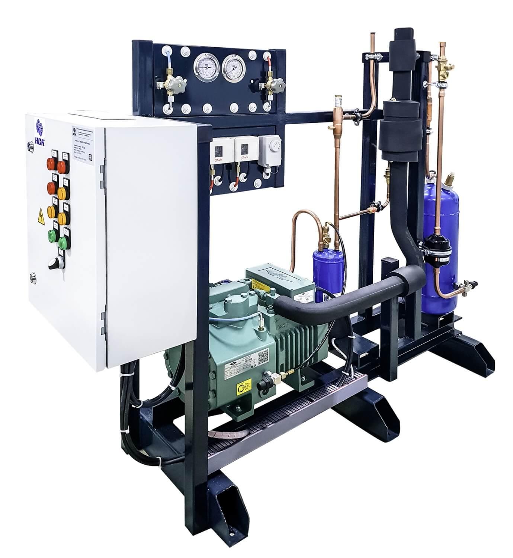 Ресиверный агрегат на поршневом компрессоре