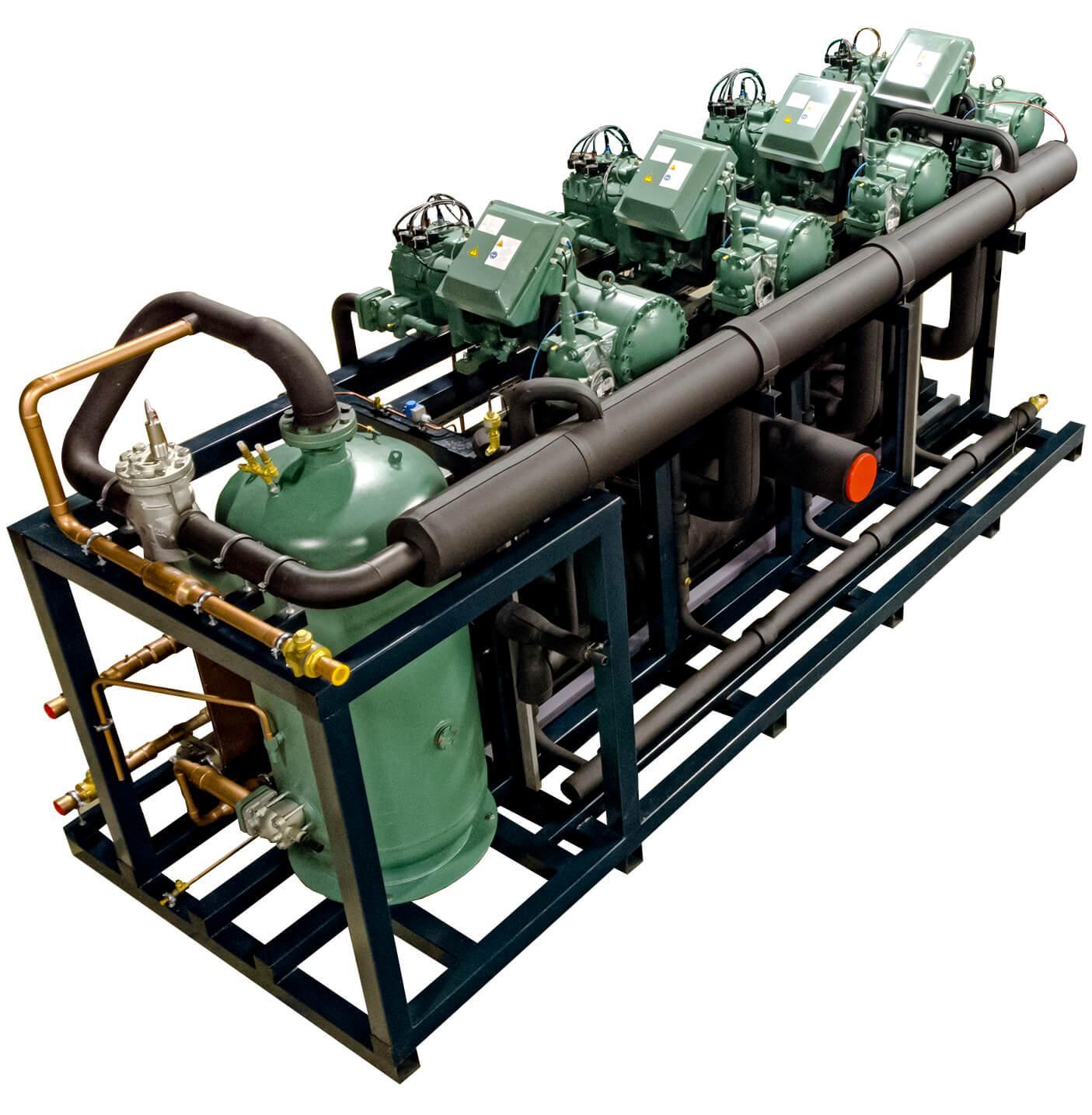 Агрегат на винтовых компрессорах
