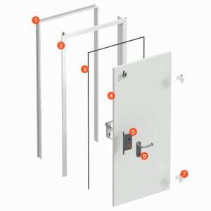 Технологические двери (ТД)