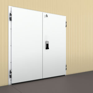 Распашные двустворчатые холодильные двери (РДД)